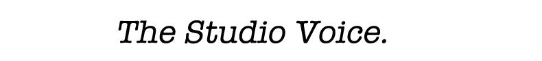 The Studio Voice