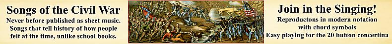 Rare American Civil War Songs