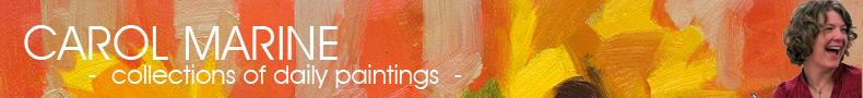 CAROL MARINE - painting books