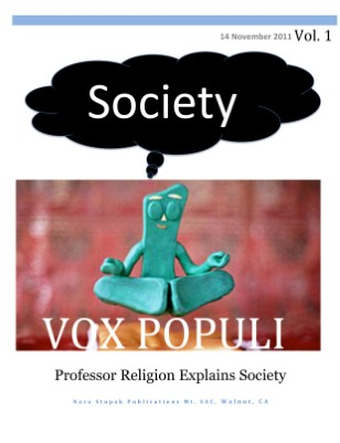 Professor Religion Explains Society
